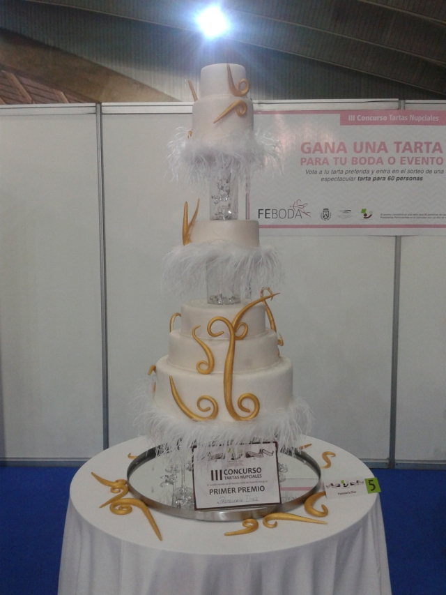Tarta nupcial 1er premio